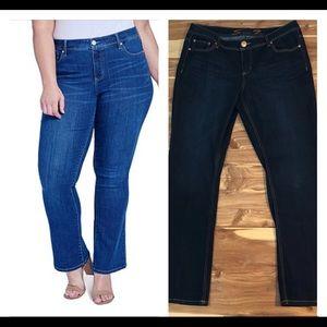 Seven7 Jeans Slim Boot Cut - Dark Blue